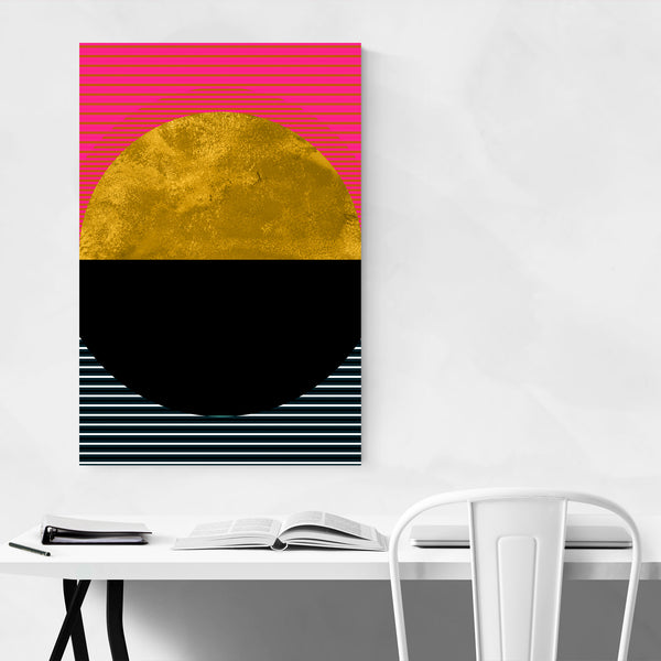 Colorful Sunset Abstract Digital Art Print