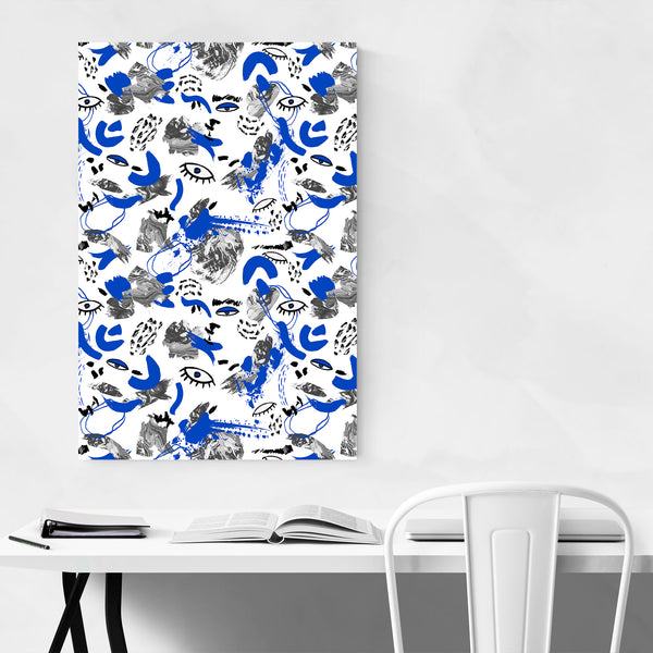 Abstract Tribal Bohemian Pattern Art Print
