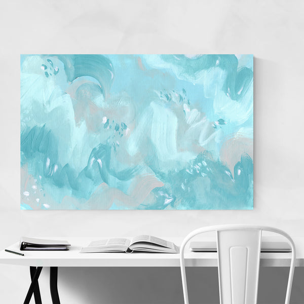 Abstract Modern Acrylic Painting Art Print