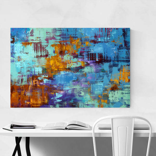 Abstract Expressionism Painting Art Print
