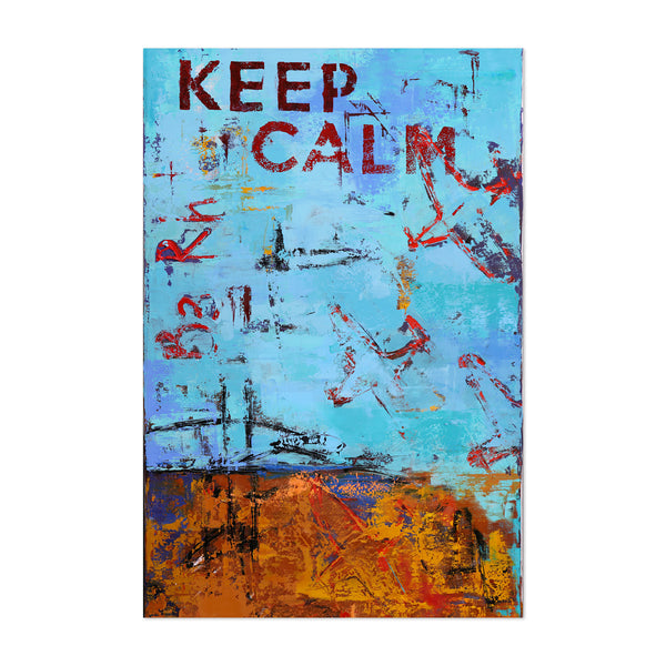 Abstract Street Art Painting Art Print