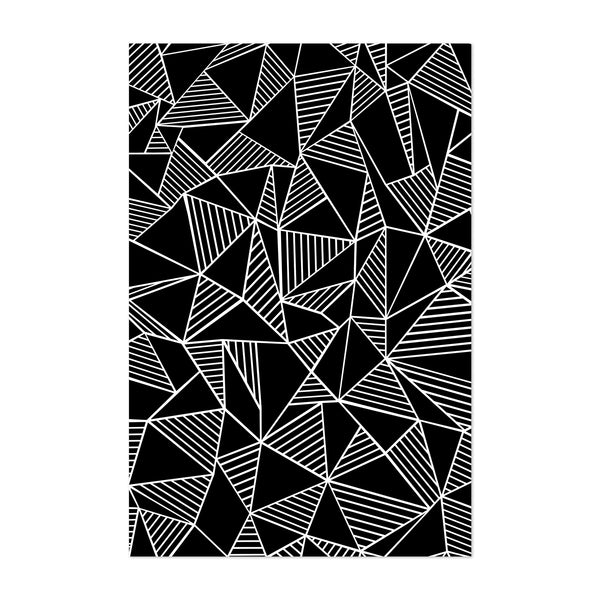 Abstract Geometric Pattern Lines Art Print