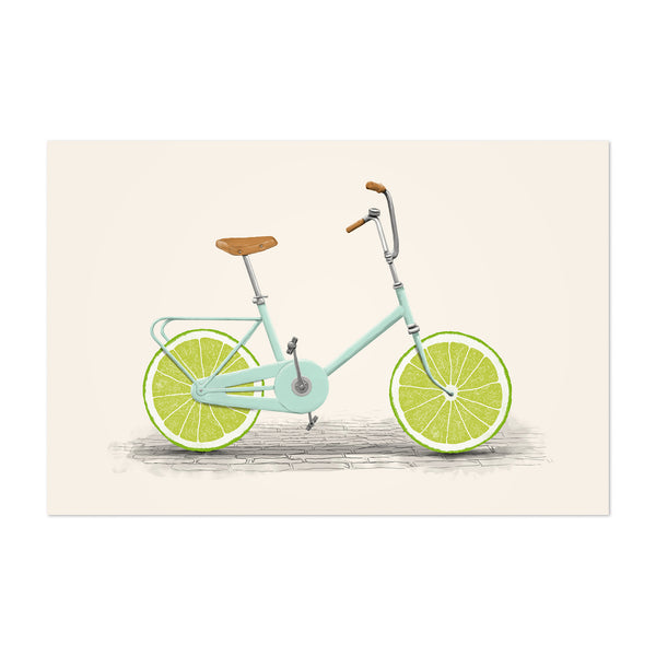 Bike Cycling Vintage Retro Art Print