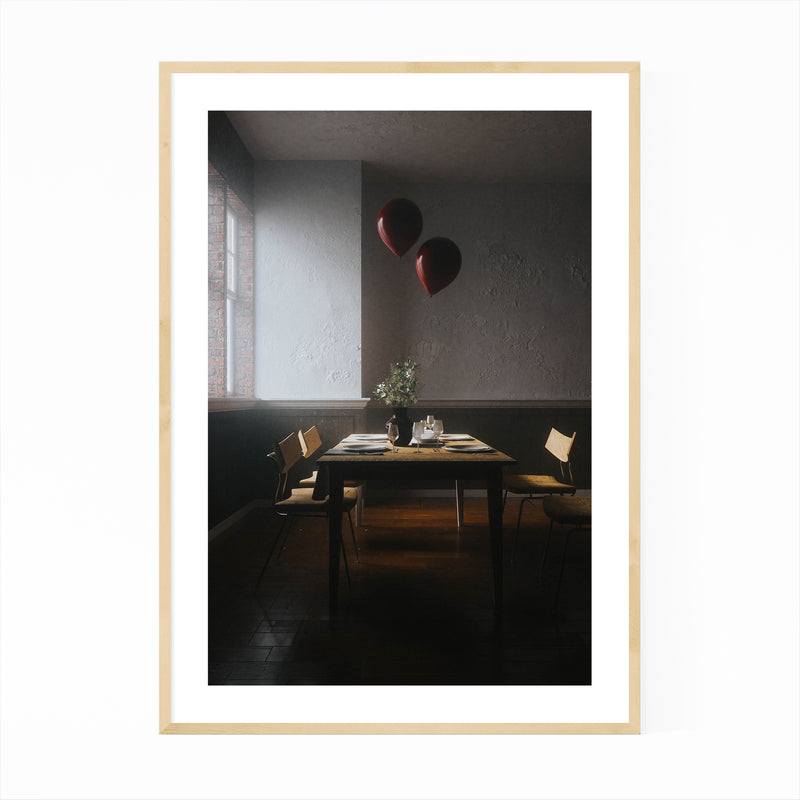 Balloon Photography  Framed Art Print