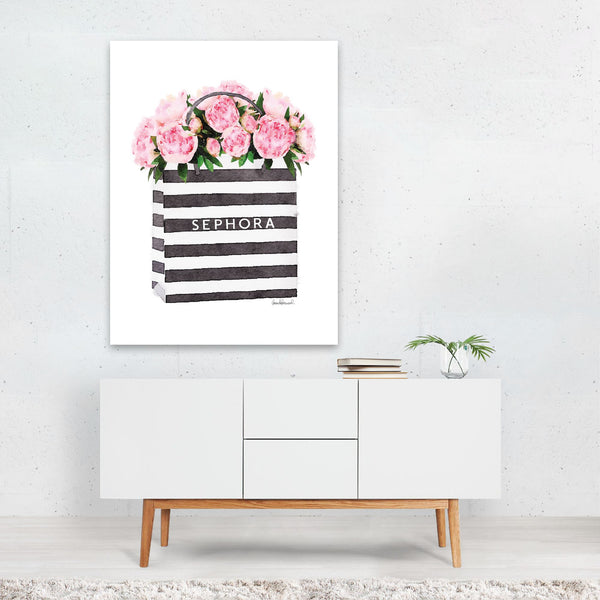 Floral/Botanical Feminine Fashion Art Print