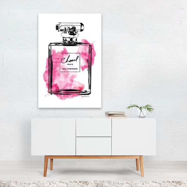 Feminine Fashion Art Print