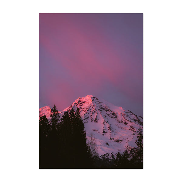 Mt. Rainier Washington Nature Art Print