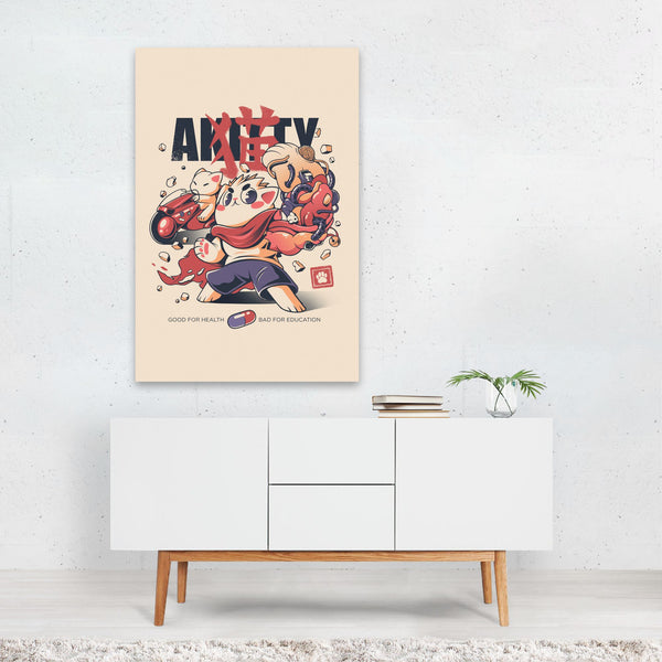 Animal Cat Illustration Art Print