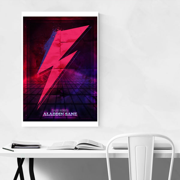 David Bowie Poster Music Art Print