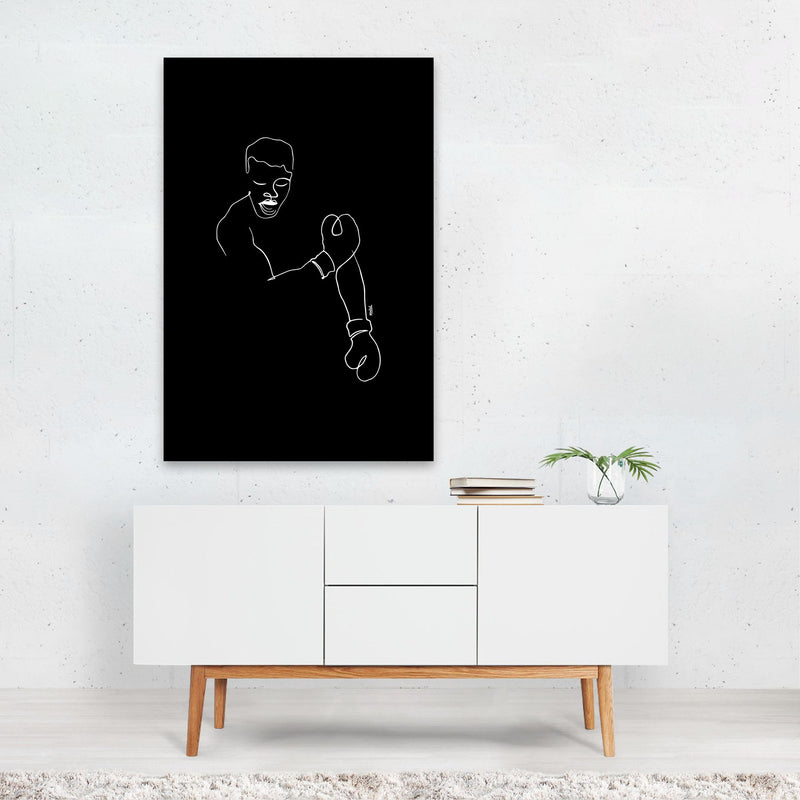 Sports Boxing Muhammad Ali Art Print
