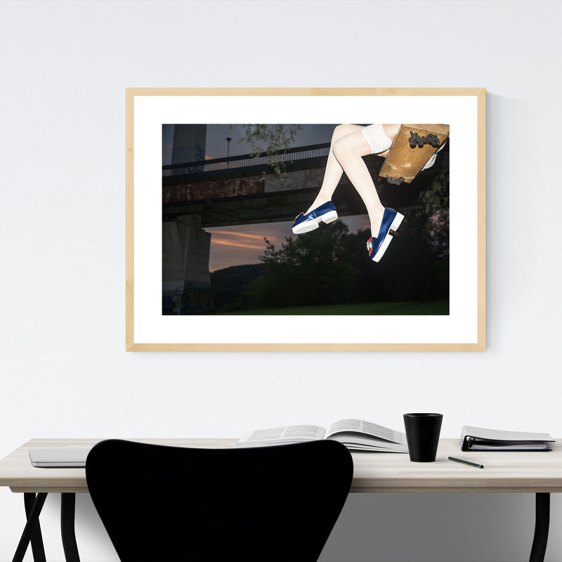 Feminine Fashion Photography Framed Art Print