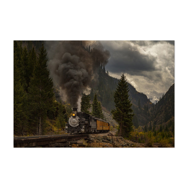 Durango Silverton Train Colorado Art Print
