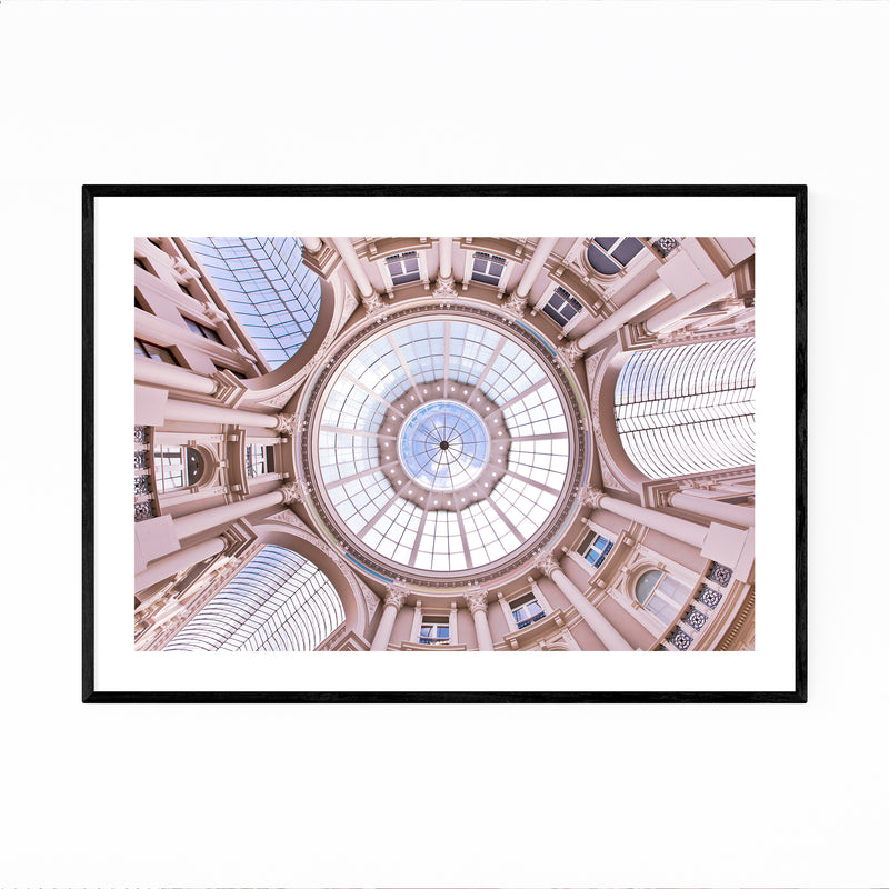 The Hague Netherlands Passage Framed Art Print