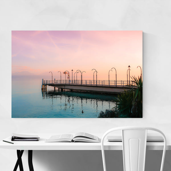 Lake Geneva Switzerland Morges Art Print