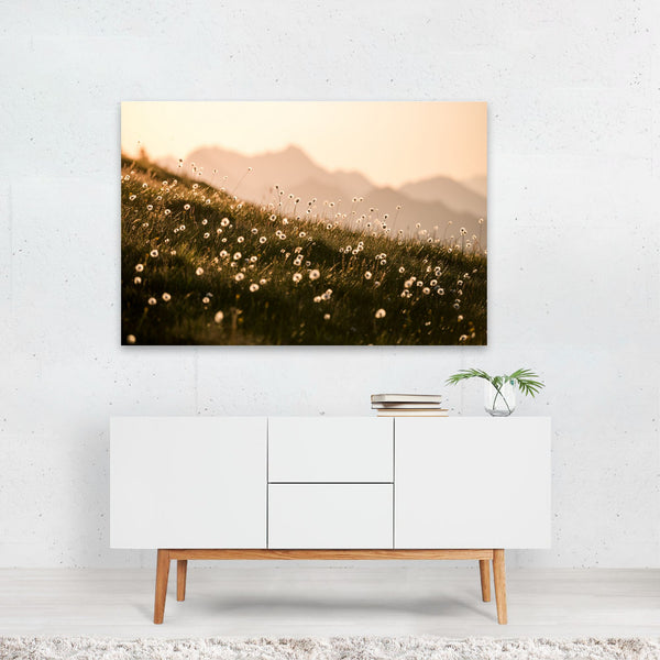 Bernese Highlands Switzerland Nature Art Print