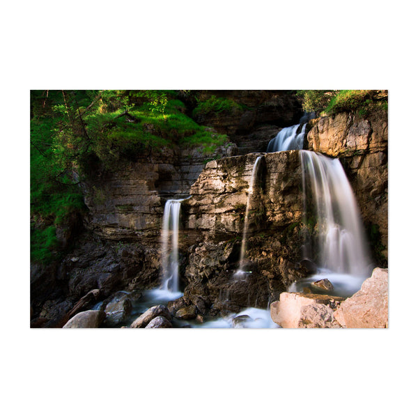 Germany Waterfall Nature Photo Art Print