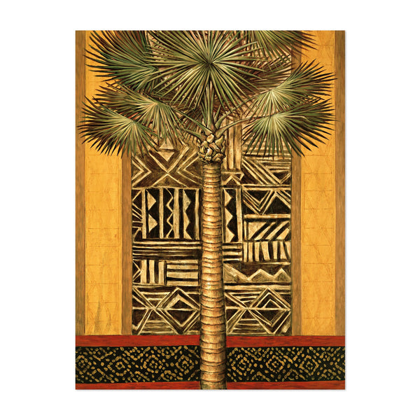 Floral/Botanical Palm Trees Painting Art Print