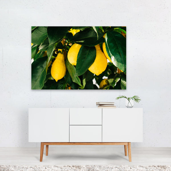 Positano Italy Beach Lemons Photo Art Print