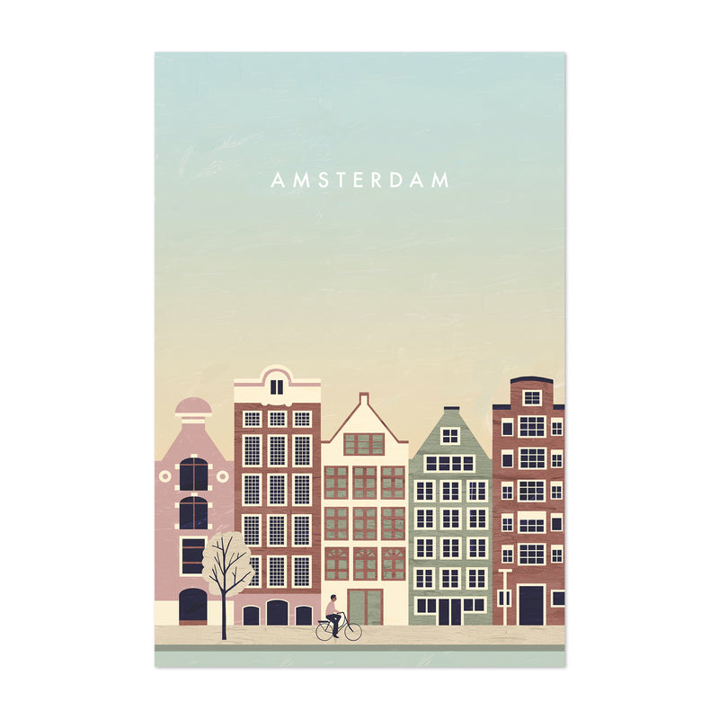 Amsterdam Netherlands Travel Art Print