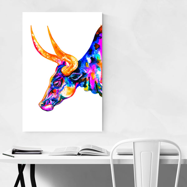 Animal Cow Painting Art Print