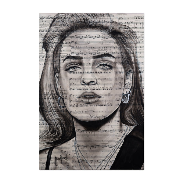 Anne Marie Music Art Print