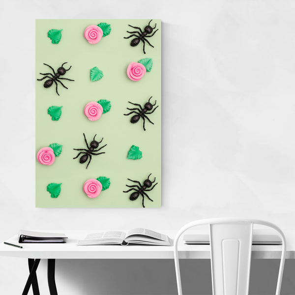 Ant Pattern Funny Weird Art Print