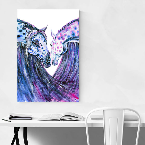 Animal Horse Patterns Painting Art Print