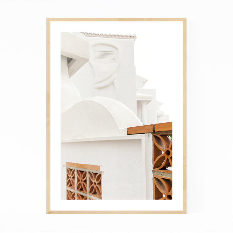 Architecture Malaga Spain Europe Framed Art Print