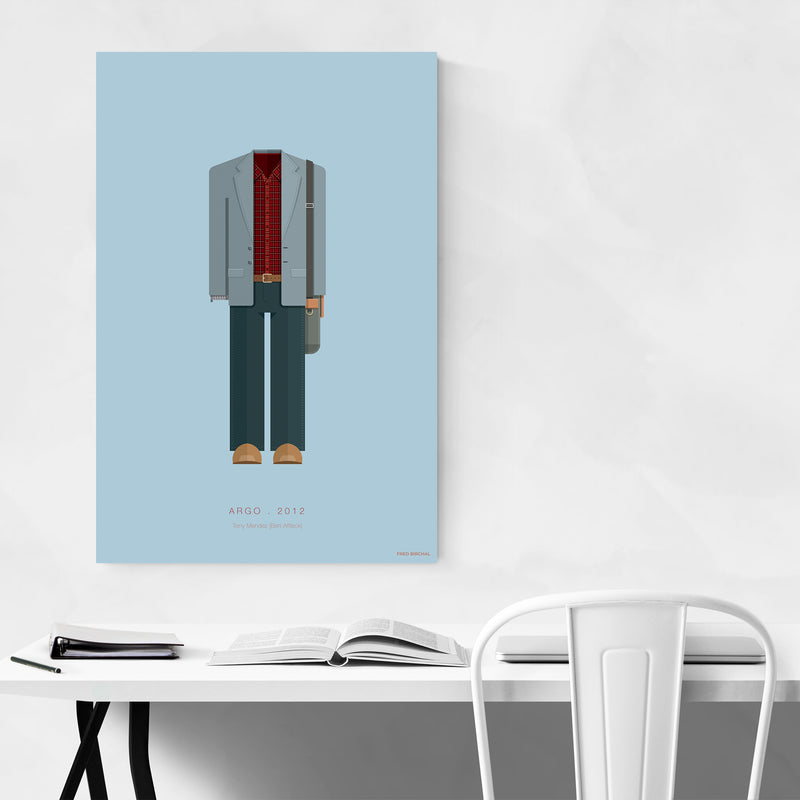 Argo Movie TV Illustration Art Print