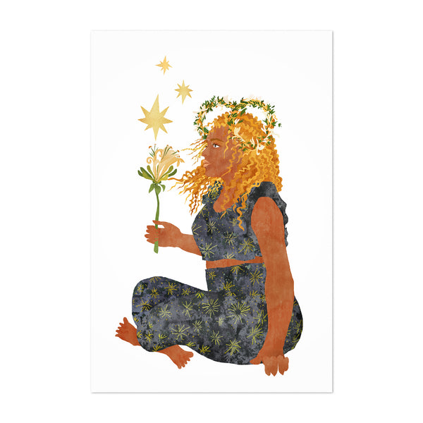 Aries Sign Zodiac Astrology Art Print