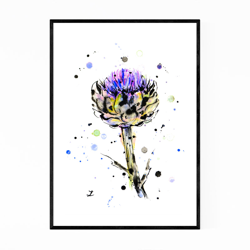 Artichoke Kitchen Painting Framed Art Print