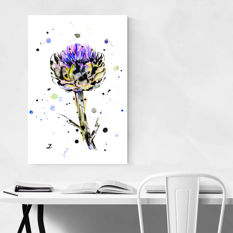 Artichoke Kitchen Painting Art Print