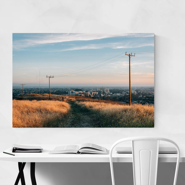 Ascot Hills Park Los Angeles Photo Art Print