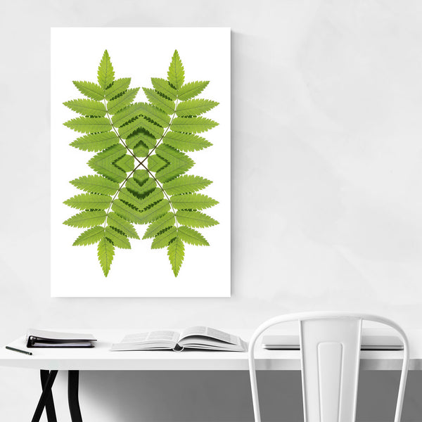 Green Ash Leaf Nature Photography Art Print