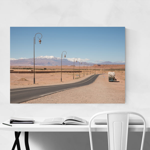 High Atlas Mountains Morocco Desert Art Print