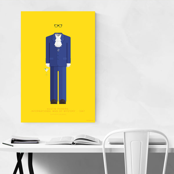 Austin Powers Movie TV Illustration Art Print