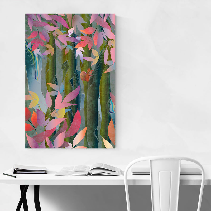 Autumn Floral Botanical Nature Art Print