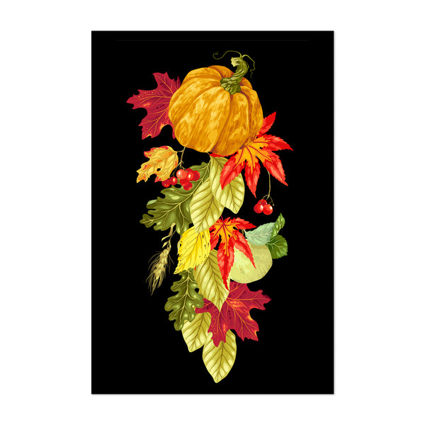 Autumn Fall Floral Botanical Nature Art Print