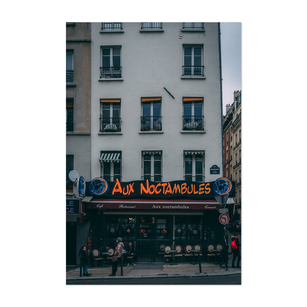 Paris France Urban Photo Art Print