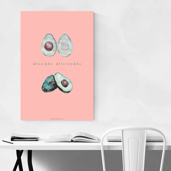 Avocado Food Kitchen Gift Art Print