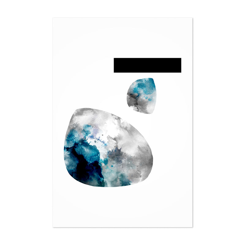 Abstract Watercolor Painting Art Print
