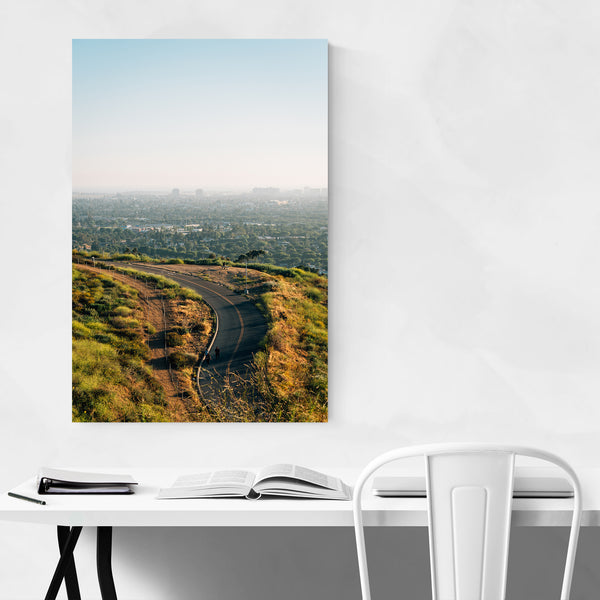 Baldwin Hills Los Angeles Photo Art Print