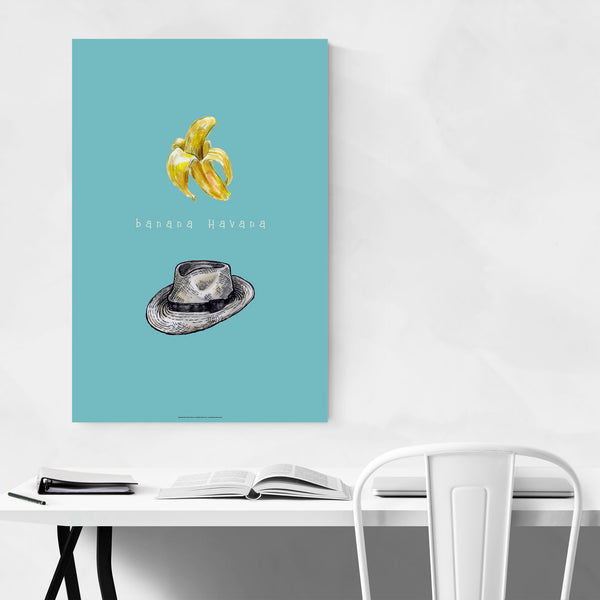 Bavana Havana Food Kitchen Gift Art Print