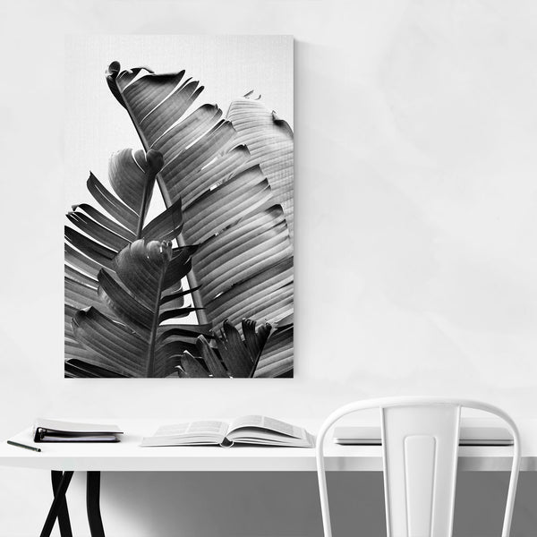 Black & White Kitchen Photo Art Print