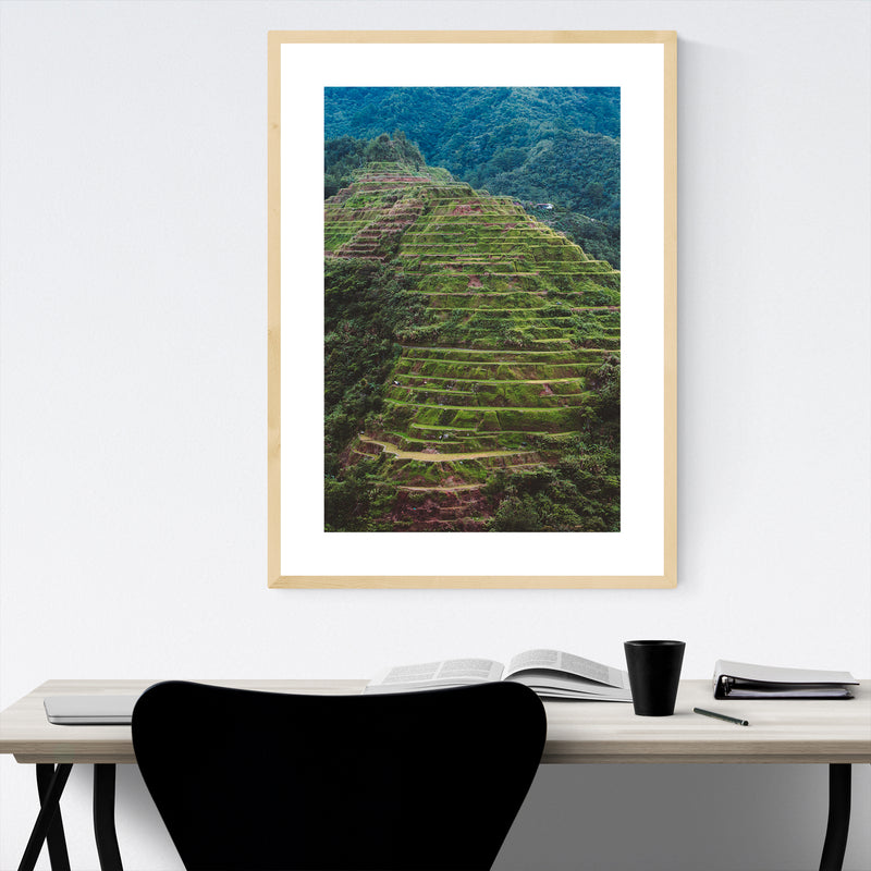 Banaue Philippines Photography Framed Art Print