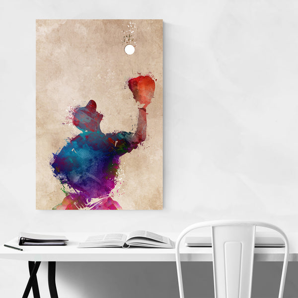 Baseball Player Gift Sports Art Print
