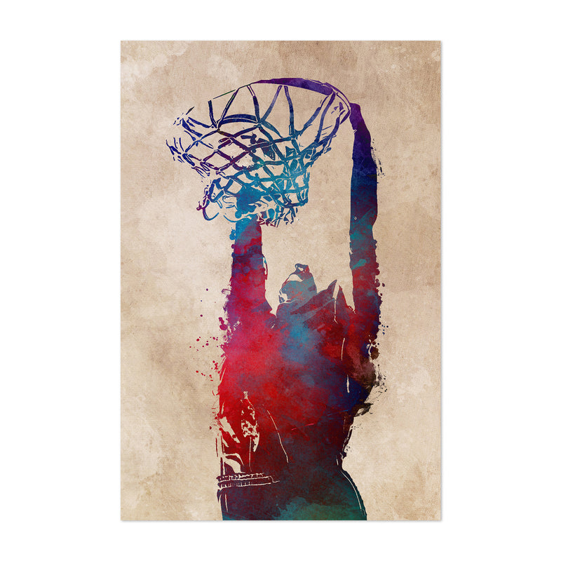 Basketball Player Gift Sports Art Print