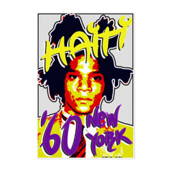 Basquiat Figurative Portrait Art Print