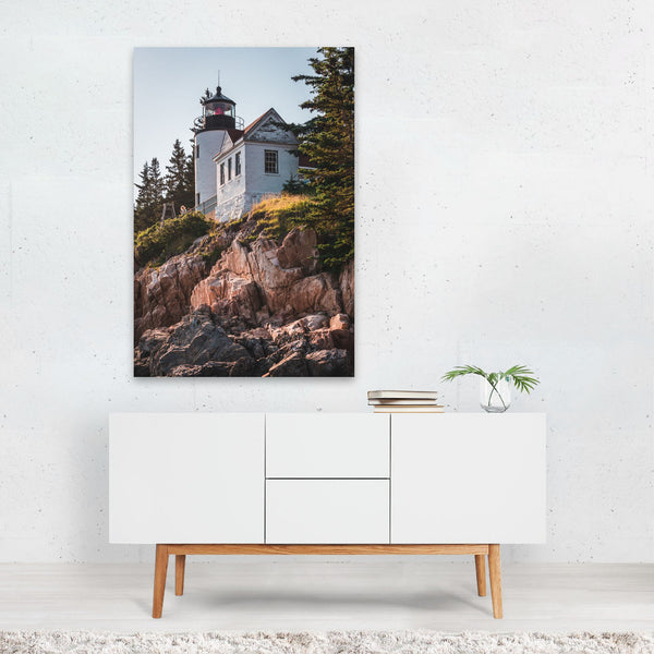 Acadia National Park Maine Beach Photo Art Print