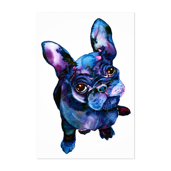 Animal Bulldog Dog Painting Art Print